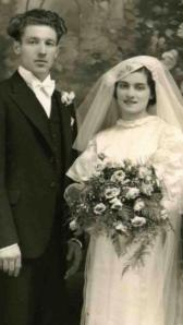 Victor and Mary Veil wed, 1935