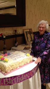 Zia Mary age 100