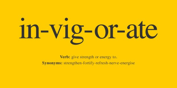invigorate dictionary