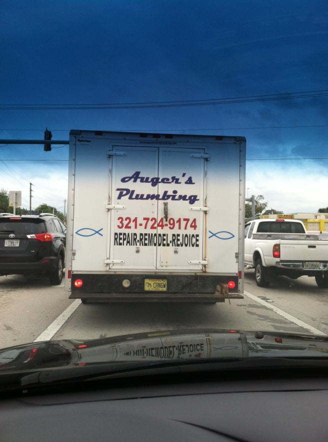 Truck sign
