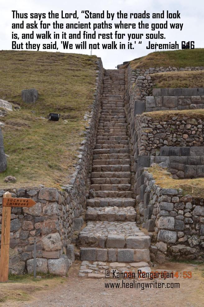 @Kannan Rengarajan in Macchu Picchu, Peru