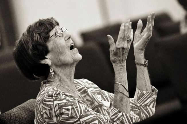 Doreen worshipping God