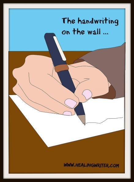 writing hand for blog
