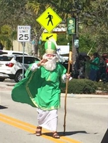 Saint Patrick looking good for 1600 years old