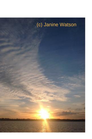 Janine sky cloud sunset