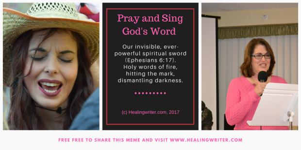 Pray Sing Word Spiritual Sword meme2017
