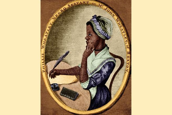 Phillis-Wheatley slave poet