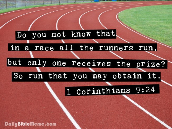 1corinthians9-24 Run the race
