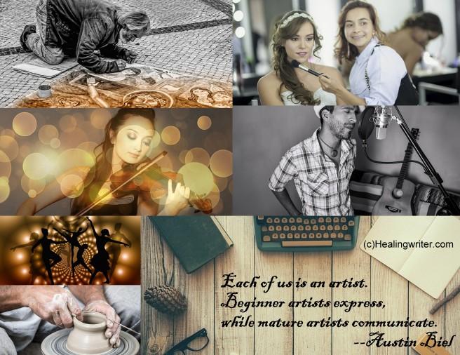 Art collage meme A Biel quote