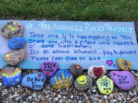 Kindness Rocks Proj image
