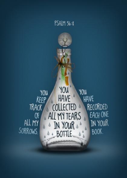 tears in bottle