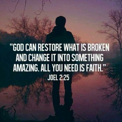 God can restore Joel 2 25