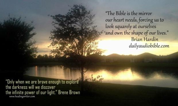 Bible BrianHardin quote mirror darkness