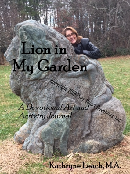 Lion in My Garden cover image