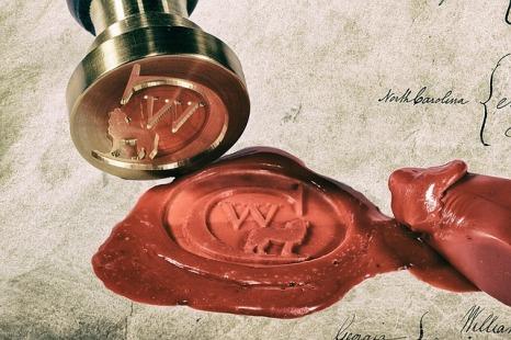 sealing wax signet