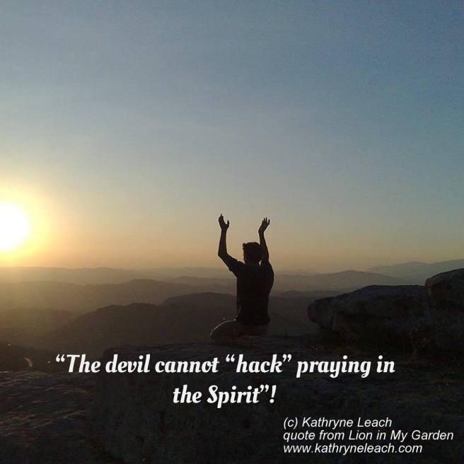 Meme Kate book quote praying in Spirit2
