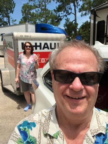 Bill and Kate UHaul 2019