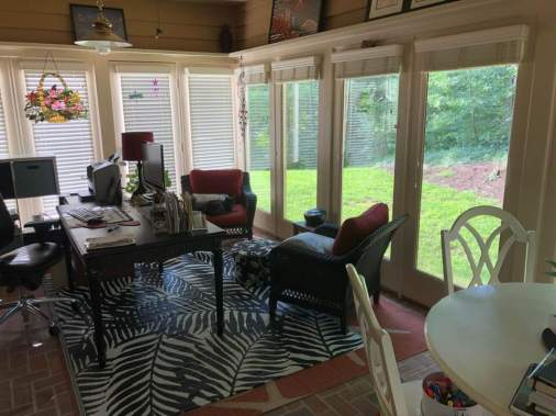 sunroom office