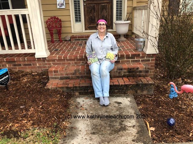 Kate gardening (c)