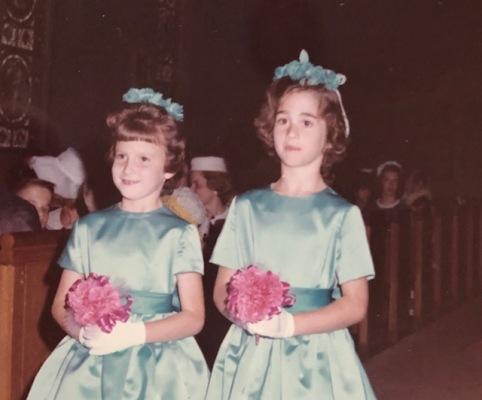 Katie teal dress 1965