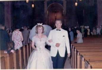 wedding pic Barry 1965